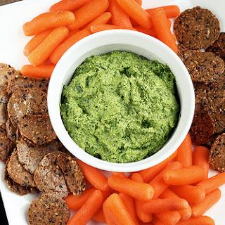 Creamy Dairy-Free Spinach Dip (vegan, raw, gluten-free)