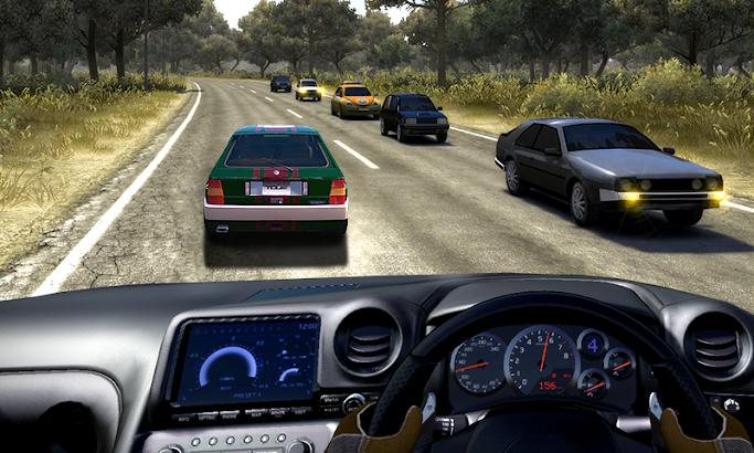 Real Racing In Car screenshot