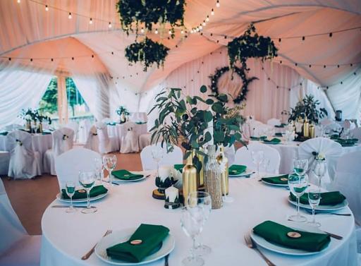 Банкетный зал «Летний шатёр» для свадьбы на природе