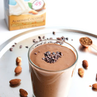 Almond Coconut Mocha Smoothie.