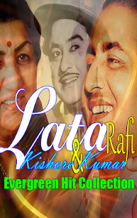 Lata Kishore And Rafi Old Songs - náhled