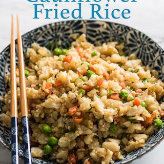 "Cauliflower ""Fried Rice""."