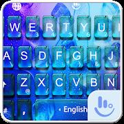 Cool Blue Water Summer Keyboard Theme
