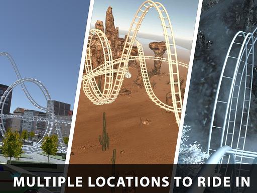 VR Roller Coaster Crazy Rider & Adventure Thrills 1.1 screenshots 1