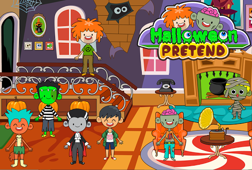 My Pretend Halloween - Trick or Treat Town Friends 1.5 screenshots 2