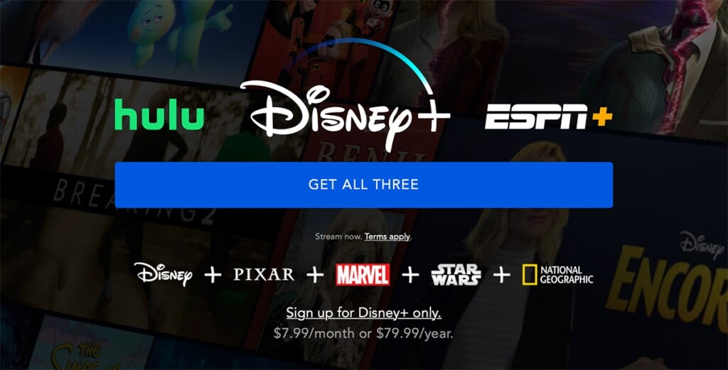 Disney Plus Sign Up Landing Page