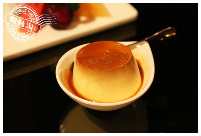 家蒂諾鐵板燒-甜點-烤布丁