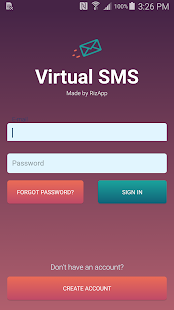 Virtual SMS- screenshot thumbnail