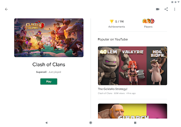 Google Play Games APK screenshot thumbnail 9