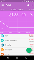Screenshot of Wallet - Budget Tracker