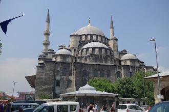 Photo: Yeni Mosque near the Spice Bazaar
