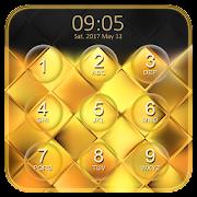 Luxury Gold Keypad Lock Screen APK for Bluestacks