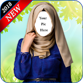 Hijab Fashion Suit Photo Editor