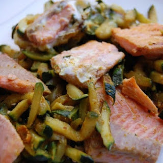 Curried Trout and Zucchini Recipe