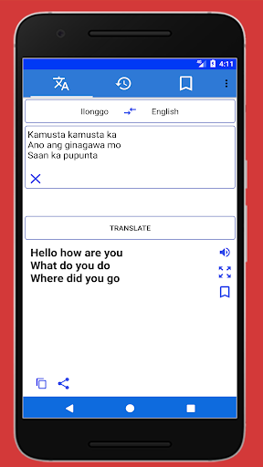 Ilonggo English Translator 1.1 screenshots 1