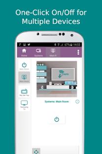 5 SURE Universal Remote App screenshot