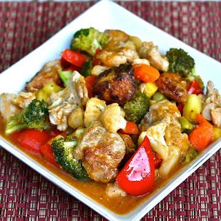 Sweet & Sour Paleo Chicken.