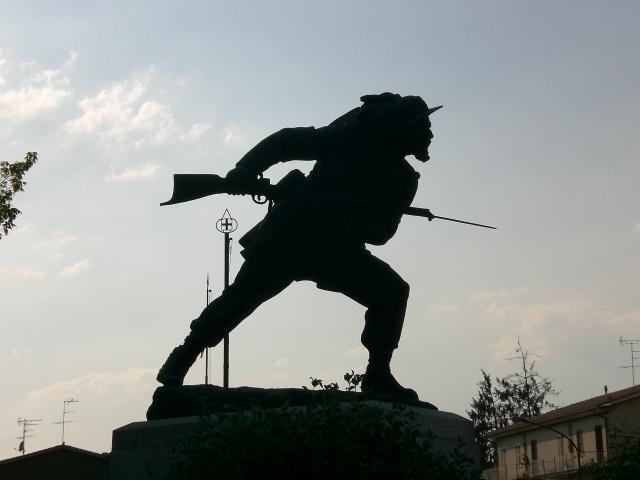 monumento al bersagliere di Wilmanna