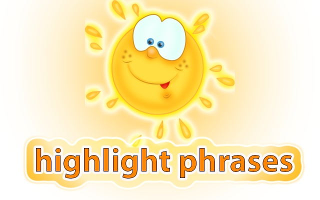 highlight phrases