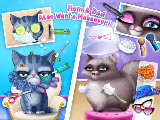 Cat Hair Salon Birthday Party - Virtual Kitty Care 6.0.20 screenshots 21