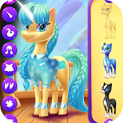 Magical Unicorn Candy World MOD APK 1.0.7 (Free Shopping)