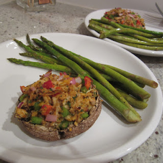 RECIPE | Stuffed Portobello Mushrooms.