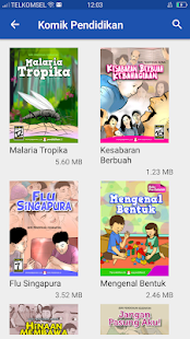 Kipin Mobile: Buku Sekolah-Video-Tryout-Komik Screenshot
