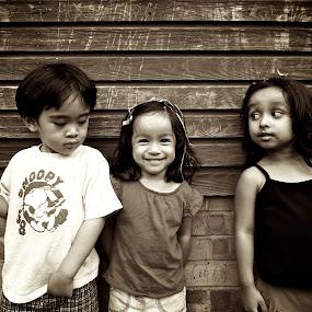 The Third Person by Ibrahim Johan - Babies & Children Child Portraits ( children, smile )