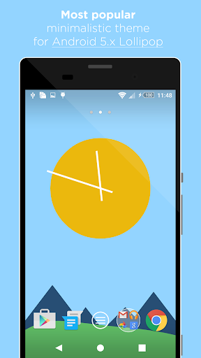 Minimal Theme for Android 5.x