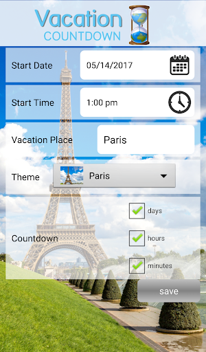 Vacation Countdown 2016 App Apk Free Download For