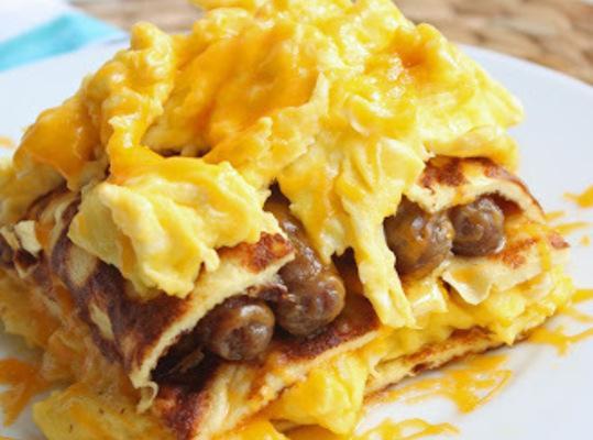 Breakfast Lasagna (low-carb) Recipe