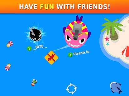 Piranh.io – Online & offline io game Screenshot