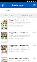 Screenshot of Zapper