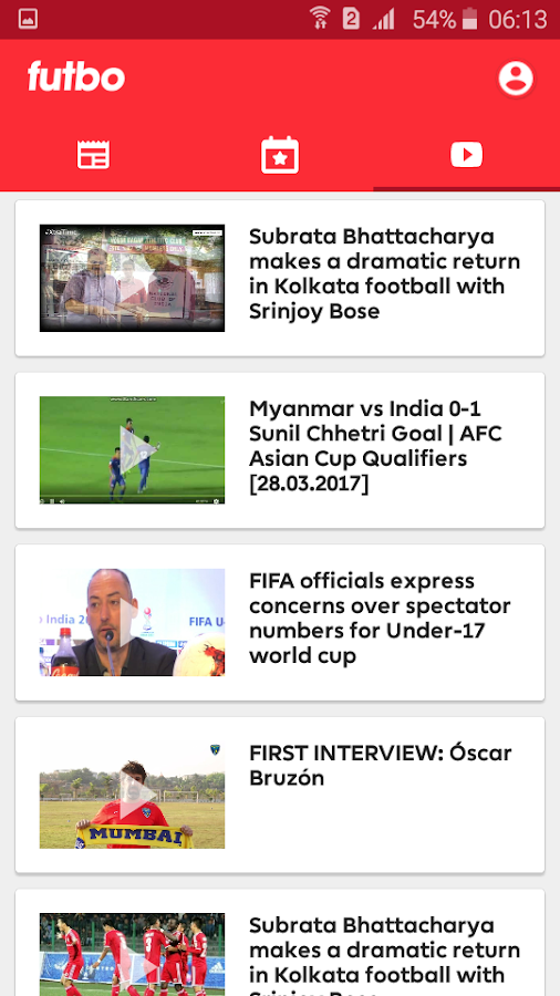 ISL, I-League, Indian Football Live Scores & News- screenshot