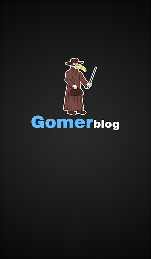 Gomerblog- screenshot