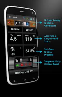 Walking Odometer Pro - náhled