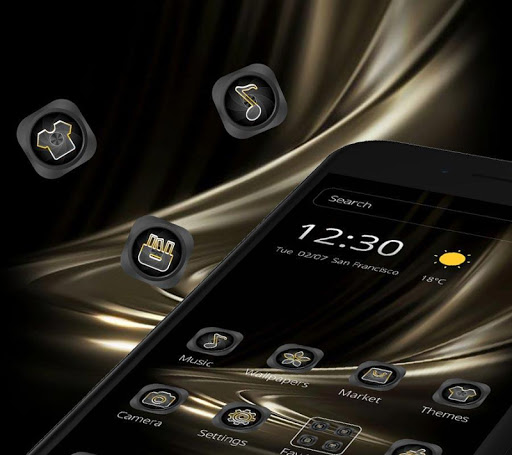 Black Gold Business Theme 1.1.7 Screenshots 6