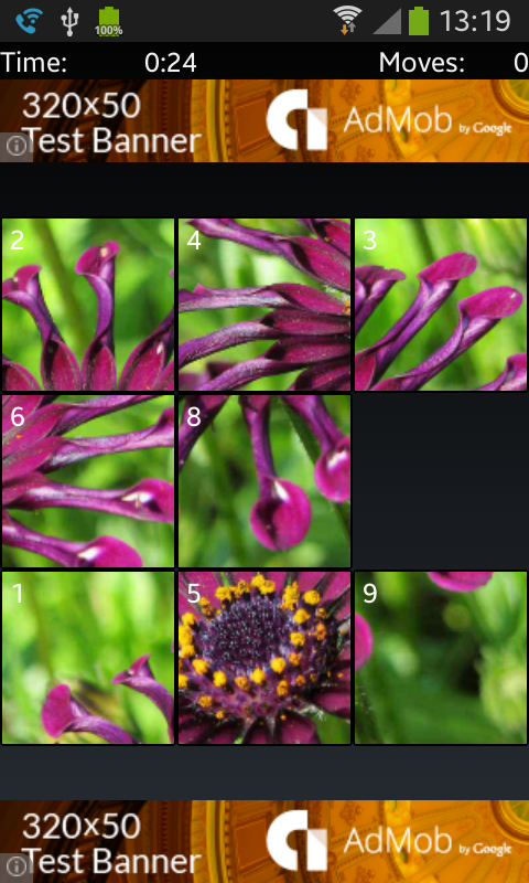 Slide Puzzle Lite (with twist)- screenshot