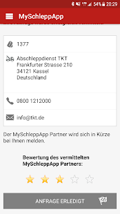 MySchleppApp- screenshot thumbnail