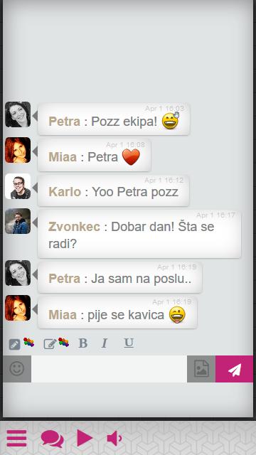 hrvatski chat
