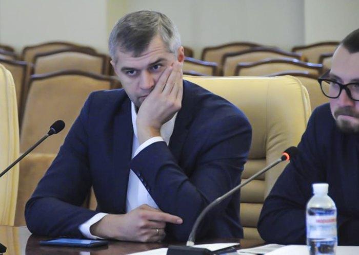 Вячеслав Рублев и Виталий Безгин во время работы в парламенте
