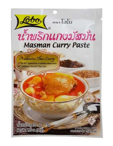 Massaman Curry Paste 50 g Lobo