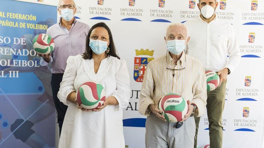Presentación del gran evento técnico del voleibol.