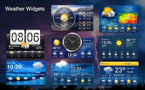 Weather radar & Global weather checker Screenshot