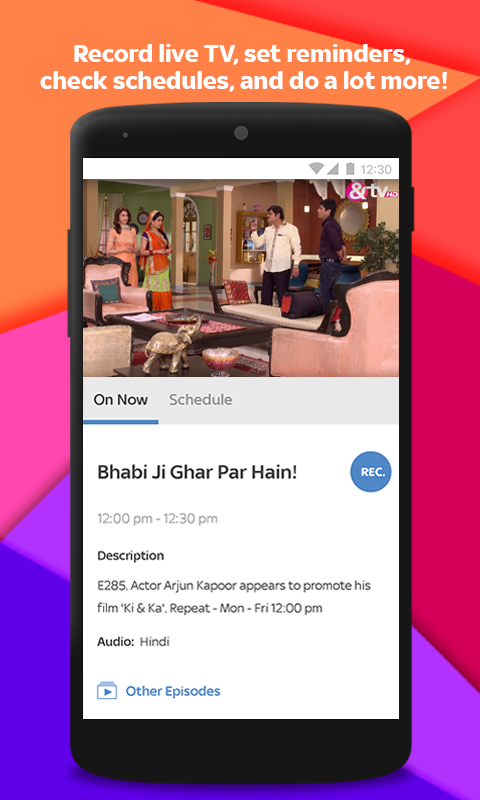 Tata Sky Mobile – Live TV & Recharge- screenshot