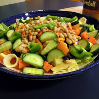 Pantry Salad with Beans.