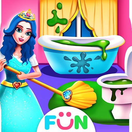 公主爱打扫 – 女孩子最喜欢的过家家游戏
