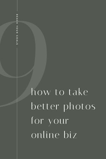 How To Take Better Photos - Pinterest Pin Template
