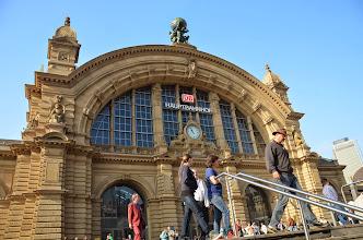 Photo: Frankfurt train station
