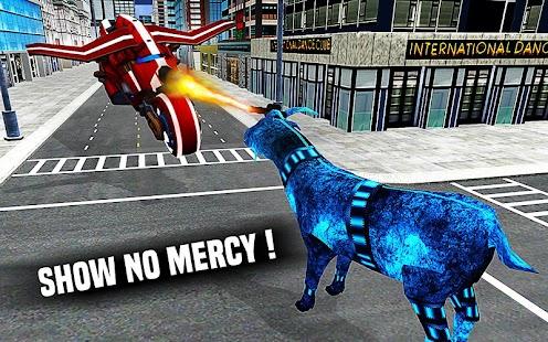 Goat Flying Robot: Super Eye Laser and Horn Attack - náhled